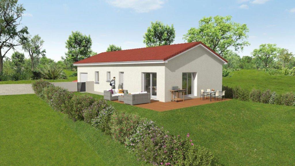 Projet construction maison à Quintenas de 90m2